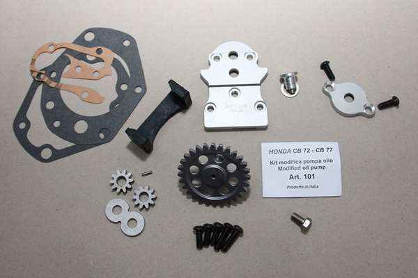 101 Modified oil pump gear 6 mm