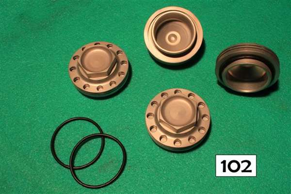 Tappet cover kit of 4