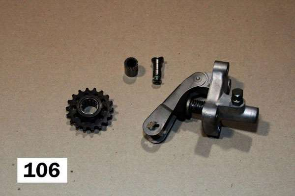 Gear tensioner B