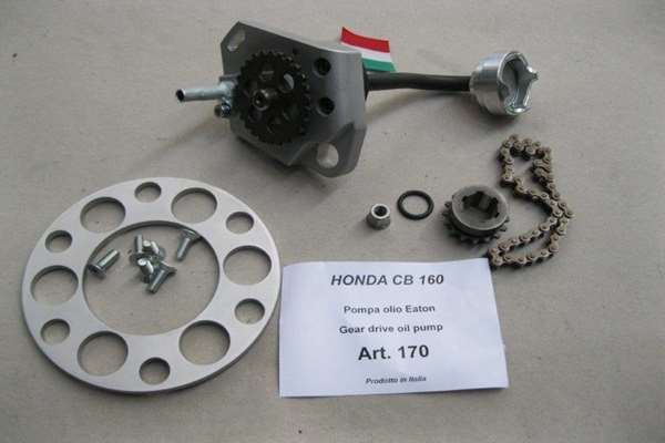 Gear drive oil pump