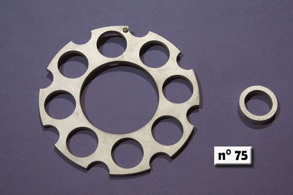"Spacers ""ergal"" for primary trasmission gears"